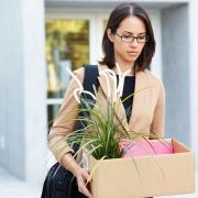 redundant business woman
